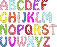 Resultado de imagen para imagenes de letras