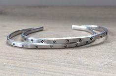 Slagletter Armbanden Setje - hart en ster