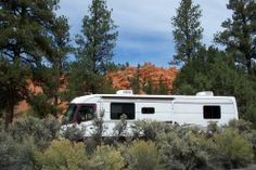 ARTICLE ON FREE AND CHEAP PARKING   Campsite at Dixie National Forest, Red Canyon Campground. $6 a night.  Campground is near Bryce Canyon National Park.