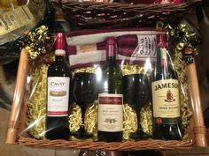 Wine basket raffle