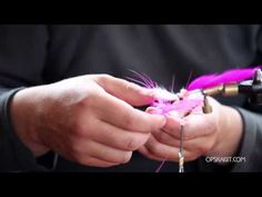 A Simple, Effective Silver Salmon Fly - OPST - YouTube
