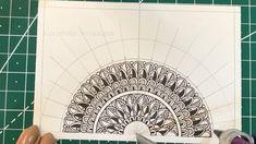 Easy Mandala Drawing, Mandala Sketch, Mandala Doodle, Mandala Art Lesson, Mandala Artwork, Mandala Painting, Dibujos Zentangle Art, Zentangle Drawings, Zentangles