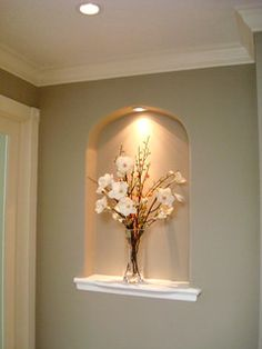 Wall Niche Decorating Ideas Awesome 46 Best Niches Dining Room & Hall Images In 2019 Alcove Decor, Niche Decor, Wall Decor, Niche Design, Wall Design, Design Design, Home Entrance Decor, Entryway Decor, Home Decor