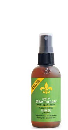 DERMAORGANIC - Leave-in Spray Shine Argan Oil Therapy - spray de brilho com óleo de argan e de uva, funciona como anti-frizz e protetor térmico. Não tem cheiro. Vende online, lojas de cosméticos e salões de beleza dos EUA. Preço médio: US$12. #cosmeticdetox
