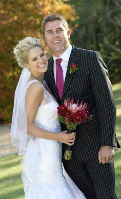 Minki vd westhuizen wedding