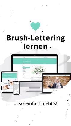 Brush Lettering, Grafik Design, Handwriting, Calligraphy, Blog, Paper, Hand Lettering Fonts, Brushes, Templates