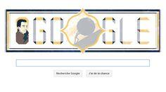Sisyphe, l'homme heureux qui rappelle Albert Camus : Google célèbre le centenaire de la naissance de l'écrivain avec une animation qui montre un petit personnage poussant un rocher sans interruption. Ce Sisyphe, personnage mythique puni par les dieux, devait paradoxalement être « heureux » selon l'auteur...