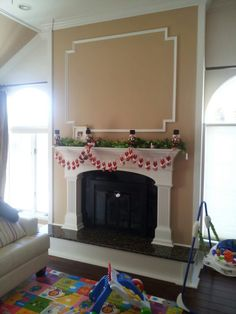 Custom fireplace and hearth extension by adam Williamson