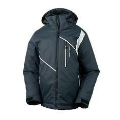 Obermeyer Iconic Boys Ski Jacket, Ebony