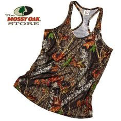 Weber Women's Racer Back in Break-Up.available at Mossy Oak Foley, AL
