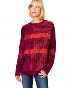 Suéteres de cuello redondo de mujer | Benetton