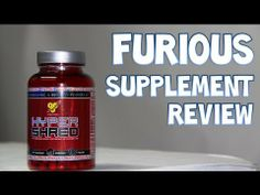 BSN HYPER SHRED Fat Burner / Energy Supplement Review | Furious Supplement Reviews