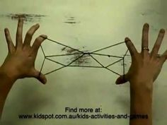 How to String games: how to do a butterfly or moth string figure - YouTube