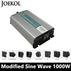 1000W Modified Sine Wave Inverter,DC 12V/24V/48V To AC 110V/220V,off Grid Solar Power Inverter,voltage Converter For Home
