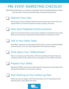 The Campaign Planning Checklist for B2B Marketers ...