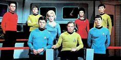 Original star trek cast cosplay source material.