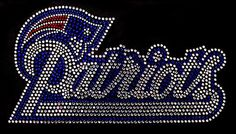 A personal favorite from my Etsy shop https://www.etsy.com/listing/488191791/nfl-new-england-patriots-rhinestone-iron