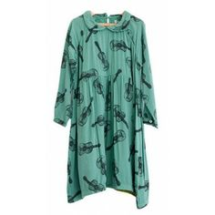 Bobo Choses 50s Style Dress with Guitar Print