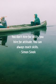 You don't hire for skills, you hire for attitude. You can always teach skills. This quote from Simon Sinek is something that every company in the world should consider. Leadership Vision, Leadership Development Training, Leadership Quotes, Life Quotes Love, Work Quotes, John Maxwell, Boss Vs Leader, Simon Sinek Quotes, Attitude