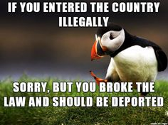 I totally agree with this. My husband and I got his citizenship the legal way. It took 5 years but it was worth it. ALL Illegal aliens should be deported!
