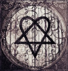 Heartagram, the symbol for my favorite band of all time, HIM. <3<3