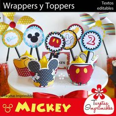 wrappers-y-toppers- Mickey mouse