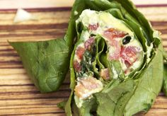 Low-carb smoked salmon & avocado roll-ups...courtesy of the Pescetarian & the Pig!