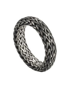 Men's Classic Chain Band Ring, SILVER - John Hardy