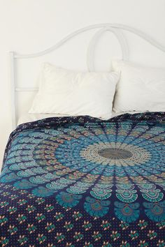 Peacock Medallion Tapestry @ Urban Outfitters