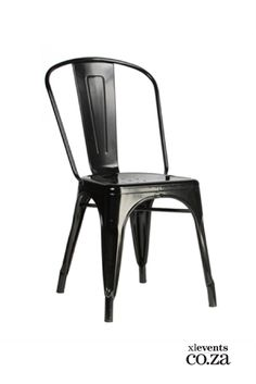 The all-metal replica Tolix seat dining chair offers your interior the strength of high-quality steel and the simple style of industrial design at its best. Steel Dining Chairs, Eames Dining Chair, Dinning Chairs, Side Chairs, Dining Room, Desk Chair, Industrial Chair, Industrial Metal, French Chairs