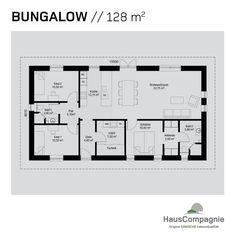 modernes wohnen auf einer ebene bungalow bauen modernes wohnen grundrisse und pavillon. Black Bedroom Furniture Sets. Home Design Ideas