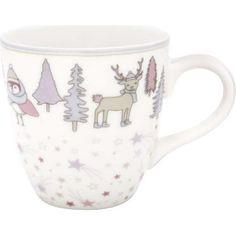 Kindertasse - Kids mug - Forrest lavender von Greengate Kakao, Lavender, Mugs, Tableware, Design, Breakfast Potluck, Microwave, Tea Cup, Tumbler