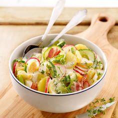 Het #najaar vraagt om een vullende salade: Aardappelsalade met gerookte ham bijvoorbeeld! #WeightWatchers #WWrecept