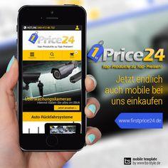 Wir freuen uns wieder ein neues Mobile Shoptemplate auf plentymarkets Basis präsentieren zu dürfen. Das ganze BS-STYLE Team bedankt sich für die klasse Zusammenarbeit mit www.firstprice24.de und freut sich auf weitere Projekte.