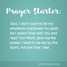 Are You Following the Holy Spirit or Your Emotions?