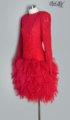 bill blass 1980s evening dress - super cute!