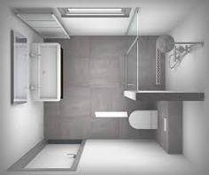 Resultado de imagen para kleine badkamer inloopdouche
