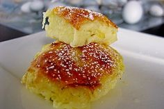 Quark - Rohrnudeln Quiche, Low Carb, Deserts, Muffin, Food And Drink, Sweets, Bread, Snacks, Cookies