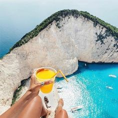 A photo diary of my short but sweet time adventuring around the Greek Island of Zakynthos. A must visit when heading to Greece. Places To Travel, Places To See, Destination Voyage, Beaches In The World, Beach Photos, Mykonos, Santorini Greece, Beach Trip, Summer Beach