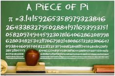 Piece of Pi poster