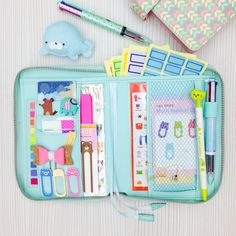 Image of Case: Mint Multi-purpose Zipper Pouch (Ready Stock)
