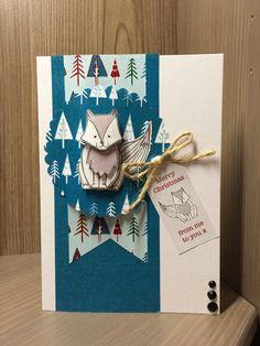 Fox Christmas Card   docrafts.com