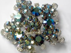 Vintage Juliana Star Brooch D Delizza and Elster by JewelryQuestDesign, $72.99