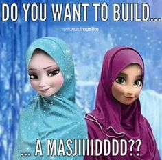 LOL!!! This pin combines two of my favourite things; Islam and Disney. :)