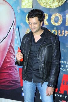 """Ritesh Deshmukh at """"Ek Villain"""" 100 Crore Success Bash."""