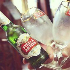 Stella Artois. My favorite.
