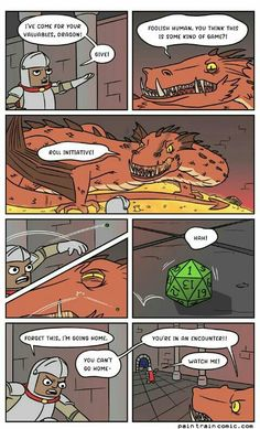Collection of internet memes and funny memes more at friendbookmark Dungeons And Dragons Memes, Dnd Funny, Dragon Memes, Fandoms, Gaming Memes, Funny Comics, Thing 1, Funny Memes, Hilarious