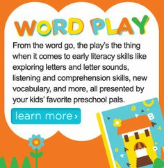Go from A-Z with letter learning printables, games, apps and more! #NickJr  Go Now: http://at.nick.com/198Gd6b
