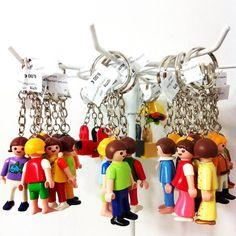 Llaveros Playmobil