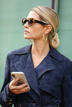af5cfd3f27389 New York Fashion Week - Helena Bordon - Óculos Helena